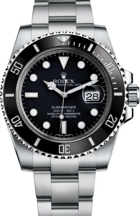 Đồng hồ Rolex Submariner 116610ln-0001 bạc sáng